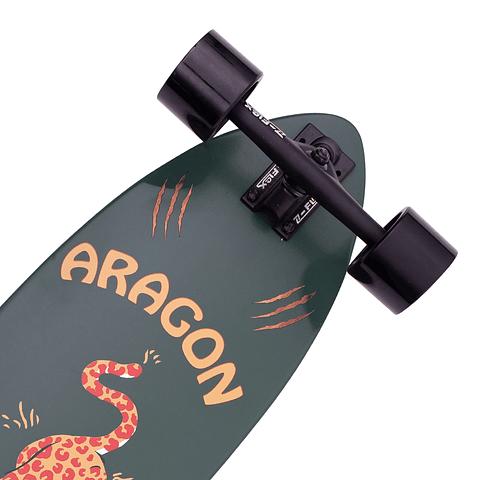 "Aragon Cheetah Roundtail 39.5"""