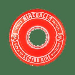 Nineballs Red 61MM 78A