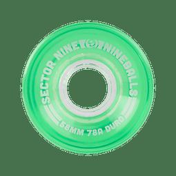 Nineballs 58MM 78A Green