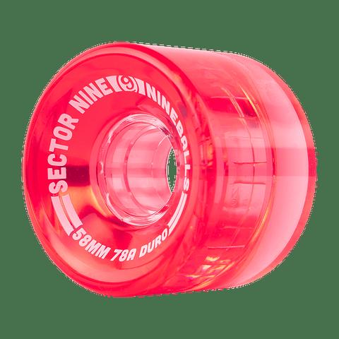 Nineballs 58MM 78A Red