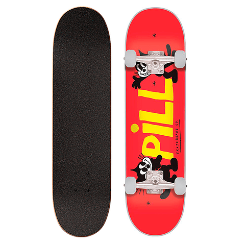 """Lucky Cat II red 8.125"""""""