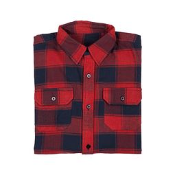 Camisa Islay Flannel Red L