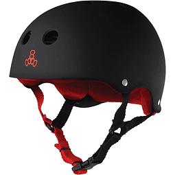 The Heed Black Rub Red XXL