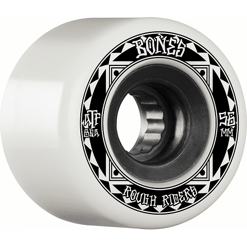 ATF Rough Riders White 56mm
