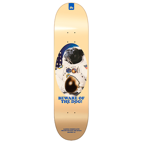 """Space Dog Yellow 8.125"""""""