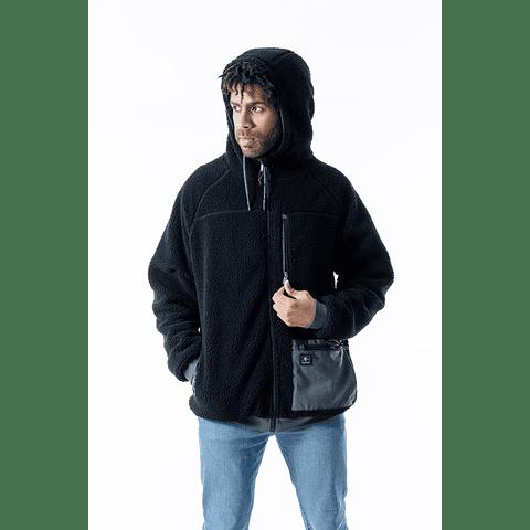 Hoodie Surazo Reverse Green Black