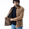 Fleece Camisa Insulated Brown Catechu Wood
