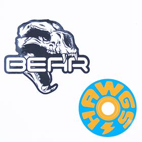 Sticker Pack Bear Blue