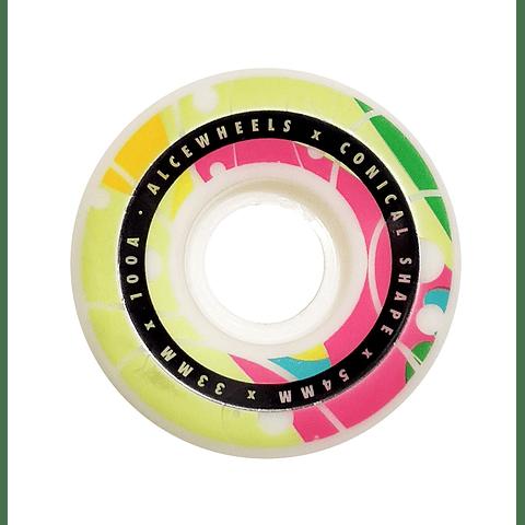 Trippy Rainbow 54mm 100A