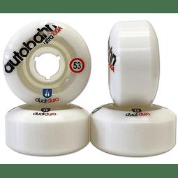Dual Duro Ultra 53mm 100A White Clear