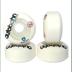Dual Duro Ultra 54mm 100A White Clear
