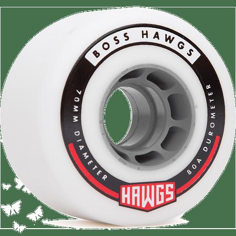 Landyachtz Boss hawgs 70mm 80a Core Grey