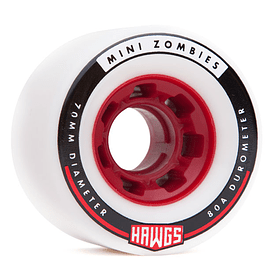 Mini zombie Hawgs  70mm 80a White