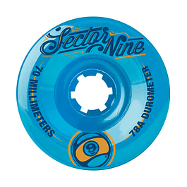 S9 wheels 9 ball 70mm 78A Blue