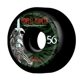 Rod Skull & Sword 56mm 4 pk Black