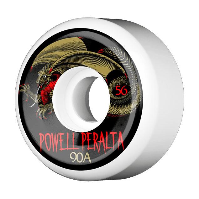 Oval Dragon 56mm x 90a White