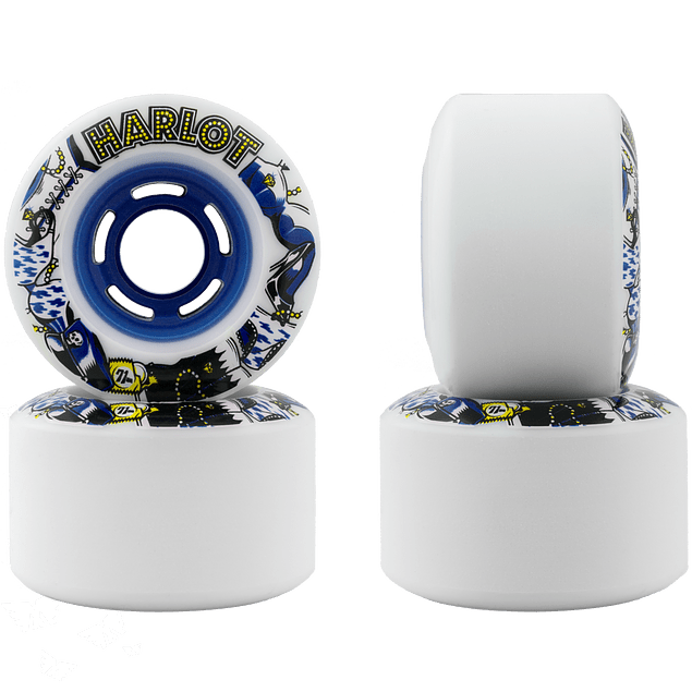 Harlot 71mm/82a Blue Graphic
