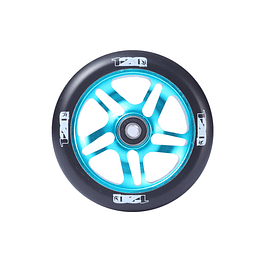 5 Spoke 120mm Teal