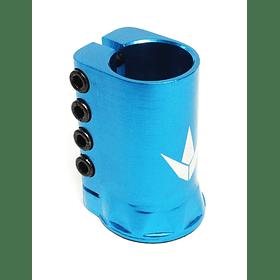 4 Bolt H Clamp Blue