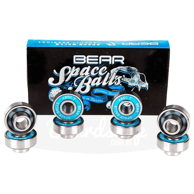Spaceball Abec 7 Ceramic Bearings