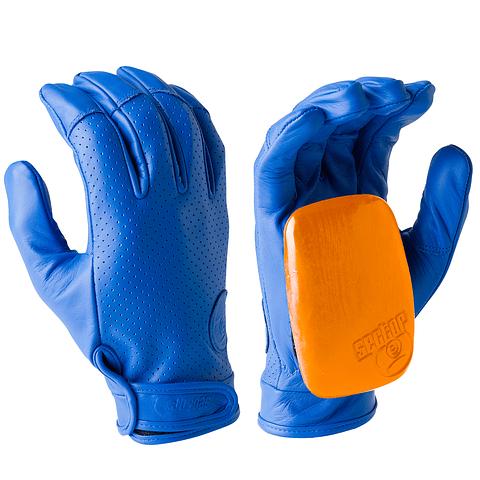 Driver II Gloves Blue