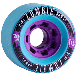 Mini Zombie  70mm Teal