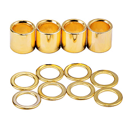 Spacers Skateboard Gold