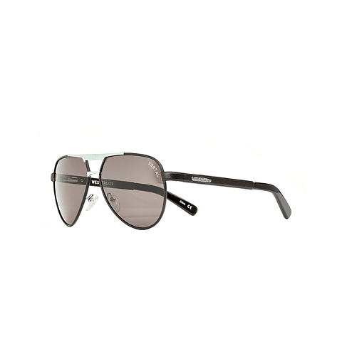 Westerlies Black leather/Silver/Grey