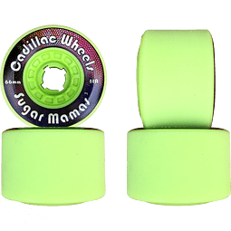 Cadillac sugar mammas 66mm 81A Lime