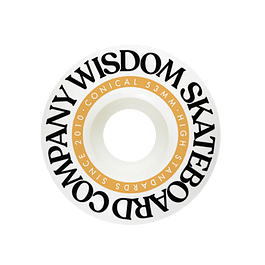 Wisdom Conicas yellow 53mm 102a