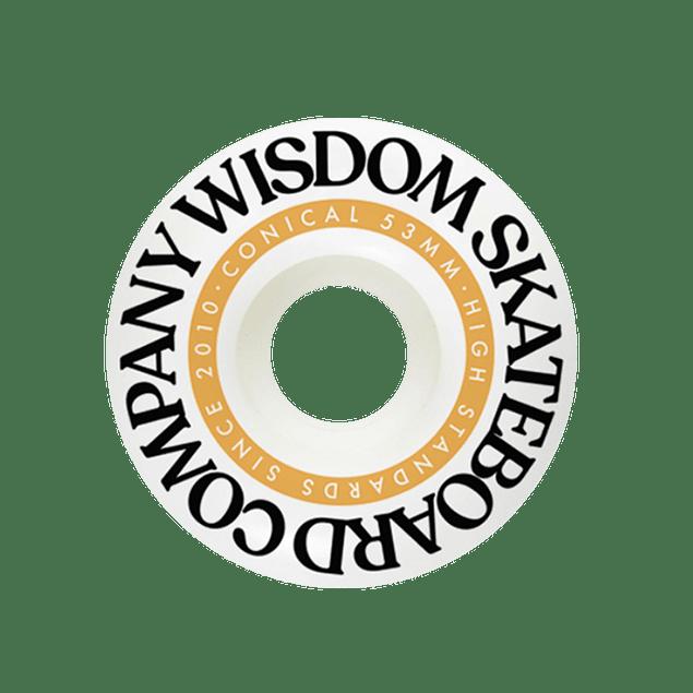 Wisdom Conicas yellow 53mm 102a