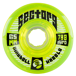Nineballs Lime 65MM 78A