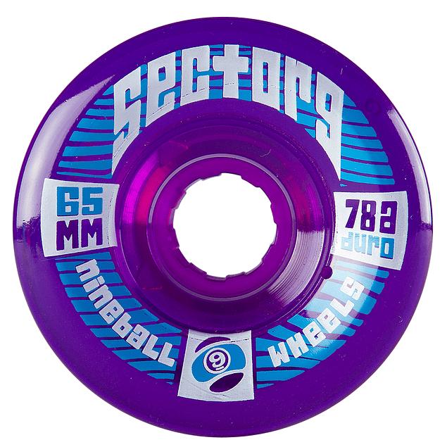 Nineballs 65MM 78A púrpura