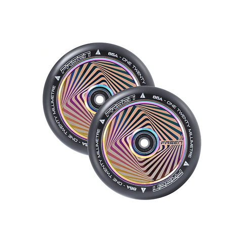 Fasen Hollow Core Hypno Square 120mm Oil Slick