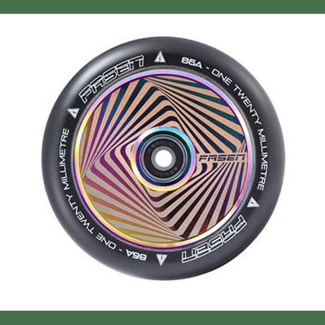 Fasen Hollow Core Hypno Square 120mm Oil Slick