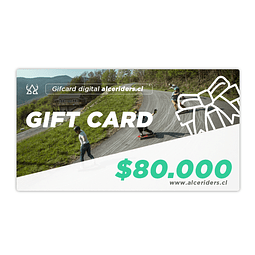 Gift Card $80.000