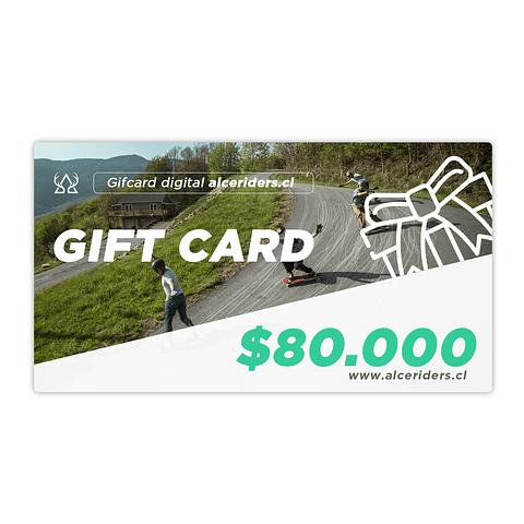 Gift Card $80.000
