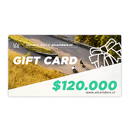 Gift Card $120.000