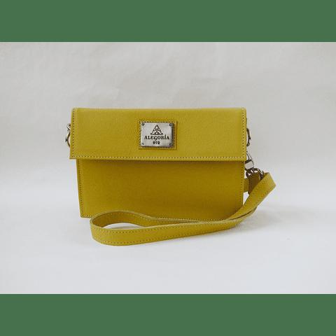 Cartera Banano Box amarilla