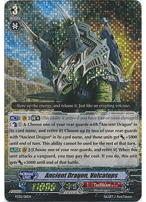 Ancient Dragon, Volcatops - FC02/011EN - Triple Rare (RRR)