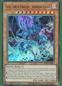 Raviel, Lord of Phantasms - Shimmering Scraper - SDSA-EN001 - Ultra Rare