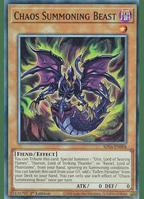 Chaos Summoning Beast - SDSA-EN004 - Common