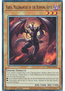 Farfa, Malebranche of the Burning Abyss - SDSA-EN016 - Common