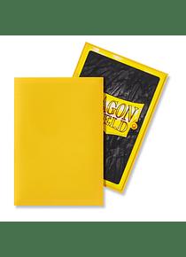 Micas Dragon Shield - Yellow Matte Japanese Size C/60 (Back order)