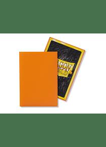 Micas Dragon Shield - Orange Matte Japanese Size C/60 (Back order)