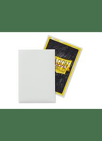 Micas Dragon Shield - White Matte Japanese Size C/60 (Back order)