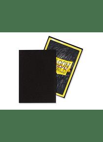 Micas Dragon Shield - Black Matte Japanese Size C/60 (Back order)