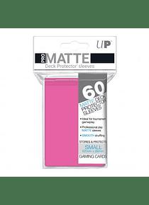 60ct Pro-Matte Bright Pink Small Deck Protectors (Back Order)