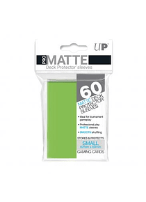 60ct Pro-Matte Lime Green Small Deck Protectors (Back Order)