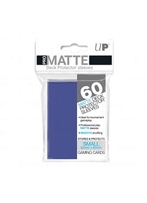 60ct Pro-Matte Blue Small Deck Protectors